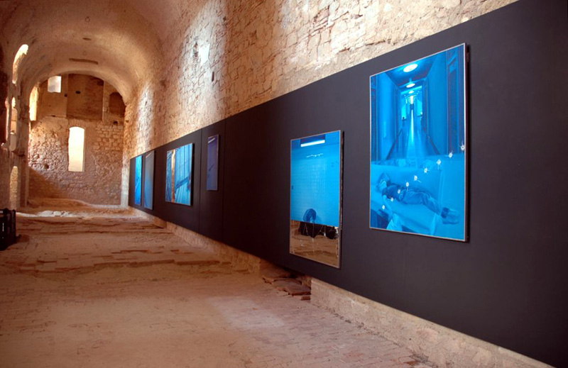 Evasion, Forteresse de Salses, France, 2010 Photographies © Thierry Gilbert