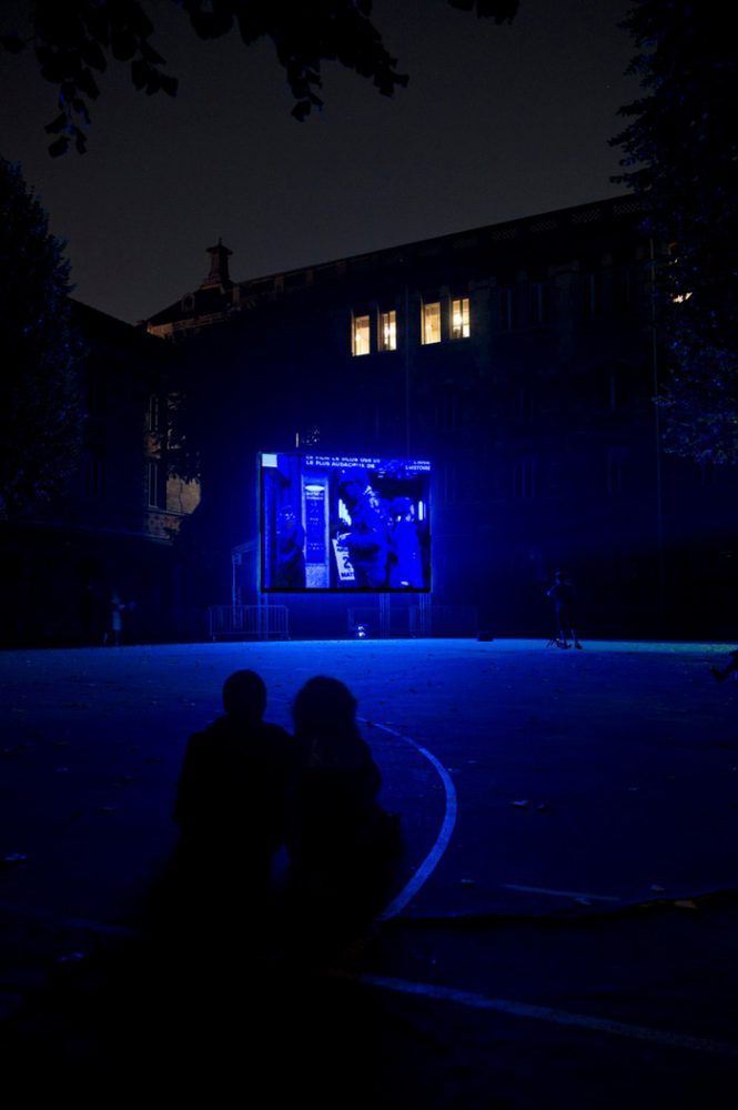 Nuit Blanche 2011, Lycée Chaptal, Paris Photographies © Marc Domage