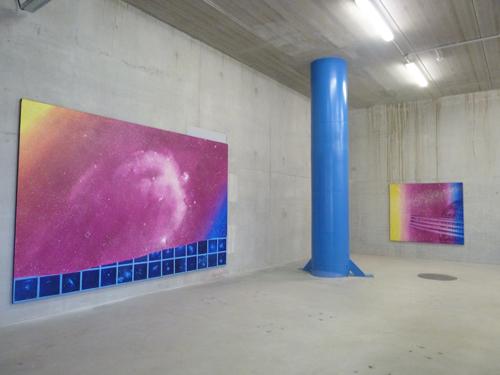 Vue de l'exposition L'aspirateur, Narbonne, 2014