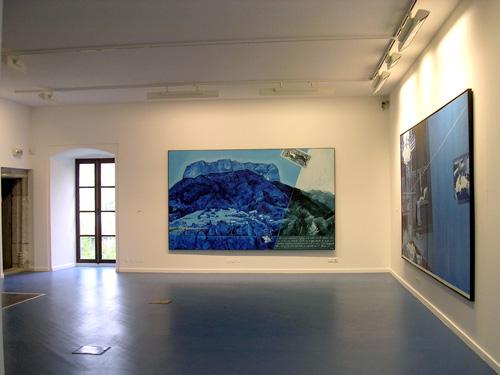 Exposition «J'ai vécu une autre vie» Fondation Claudine et Jean-Marc Salomon, Alex, Haute-Savoie, 2004.