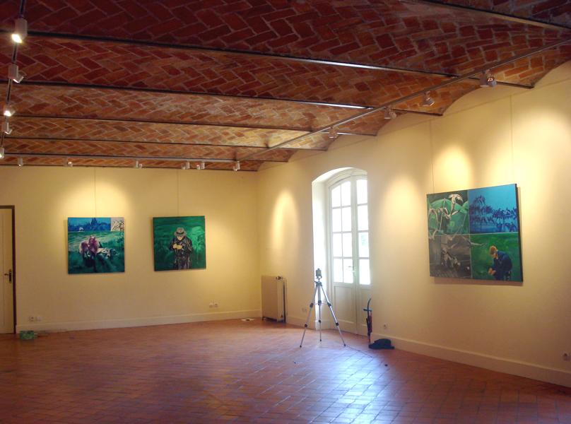 Maison Elsa Triolet-Aragon, Saint Arnoult en Yvelines, France, 2010 Photographies © Paule Monory