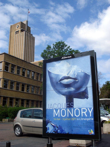Monory, Orangerie de Cachan, Parc Raspail, 2011 Photographies © Paule Monory